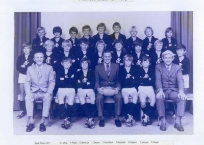 1972 Under 12's