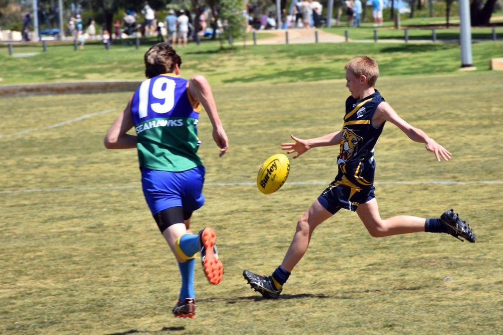 Footy Training Recommences Tuesday 27th April 2021